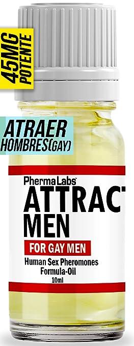 GAY FEROMONAS Atraer Hombres PODEROSAS SEXO FEROMONA Aceite puro 10 ML #045 PhermaLabs