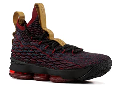 90e89fbf992 Mens Nike Lebron XV Dark Atomic Teal Black-Team Red 8.5 D (M
