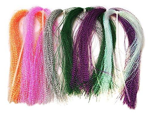 Crystal River Bead (Hareline Krystal Flash - Rainbow)