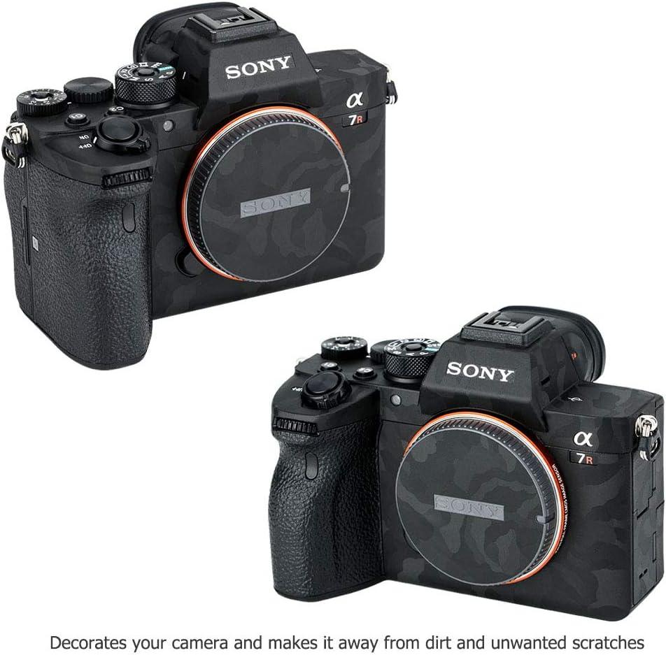 Anti-Kratzer Schutz Sticker f/ür Sony Alpha A7R IV A7RIV A7R4 Kamera Anti-Rutsch Cover Folie