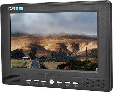 Mugast TV Digital Portatil 1080P HD 7 Pulgadas 16:9 Handheld DVB-T/T2 Apoya HDTV Admite USB Tarjeta TF Disco U: Amazon.es: Electrónica