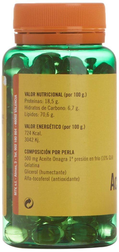 TERRA VERDA - Onagra 125Perlas 500Mg: Amazon.es: Salud y cuidado personal