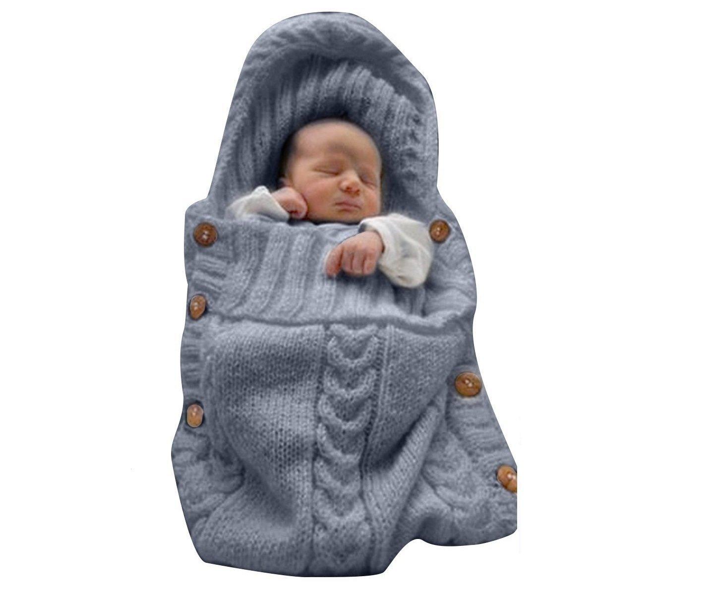 Baby Sacos de dormir, Franch entime recién nacido Baby punto - Manta saco de dormir niña niño bebé Techos Wrap Swaddle Techos fotografía techo para 0 - 12 ...