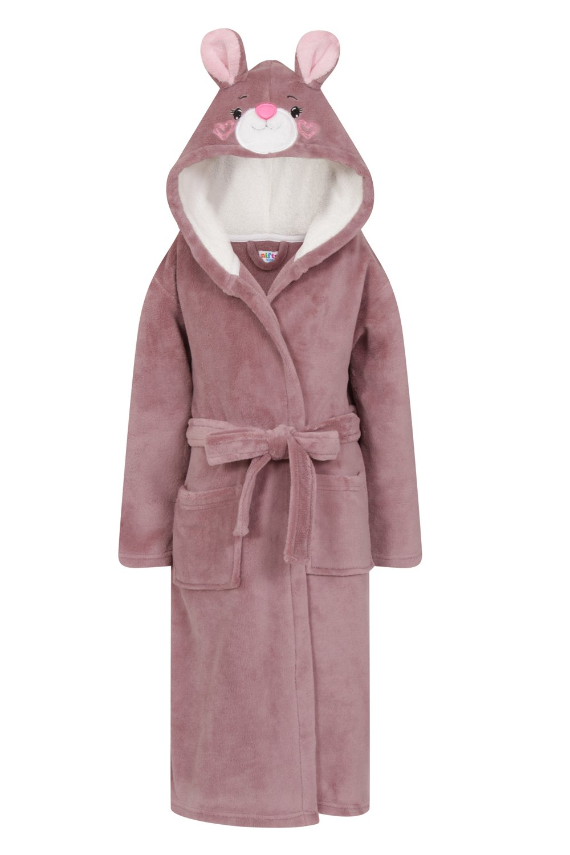 Nifty, Kids Novelty Fun Fleece Soft Warm Bath Robe Dressing Gown 045-KIDS-ROBE