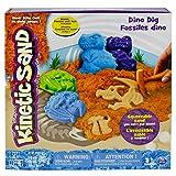Kinetic Sand - Set de Juego, con dinosaurios y fósiles