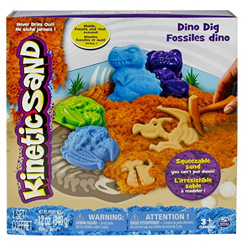 Kinetic Sand Dino Dig Playset Only $12.65
