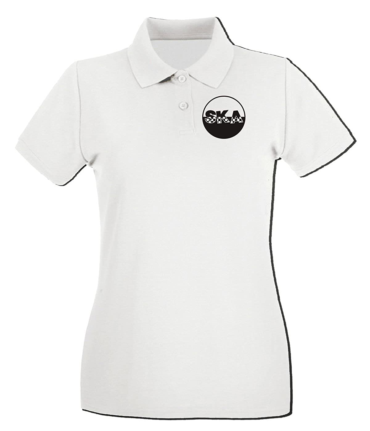 T-Shirtshock - Polo para Mujer WC0556 Ska Logo, Talla L: Amazon.es ...