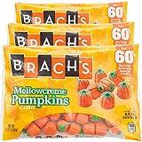 Brachs Halloween Autumn Mellowcreme Pumpkin Candy | 3 Pack 17.8 Oz | Made With Real Honey (Pumpkin)