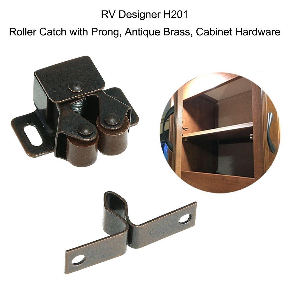 KKmoon RV-Designer H201, Roller Catch mit Prong, Antik Messing ...