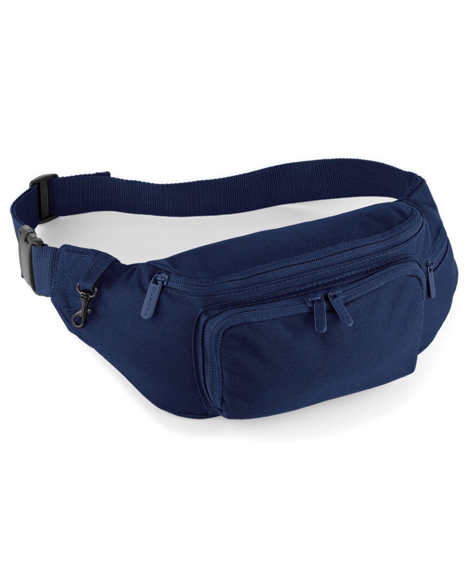 QUADRA BELT BAG BUM BAG - BLACK OR NAVY BLUE (BLACK)