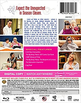 The Big Bang Theory: The Complete Eleventh Season (BD) [Blu-ray]