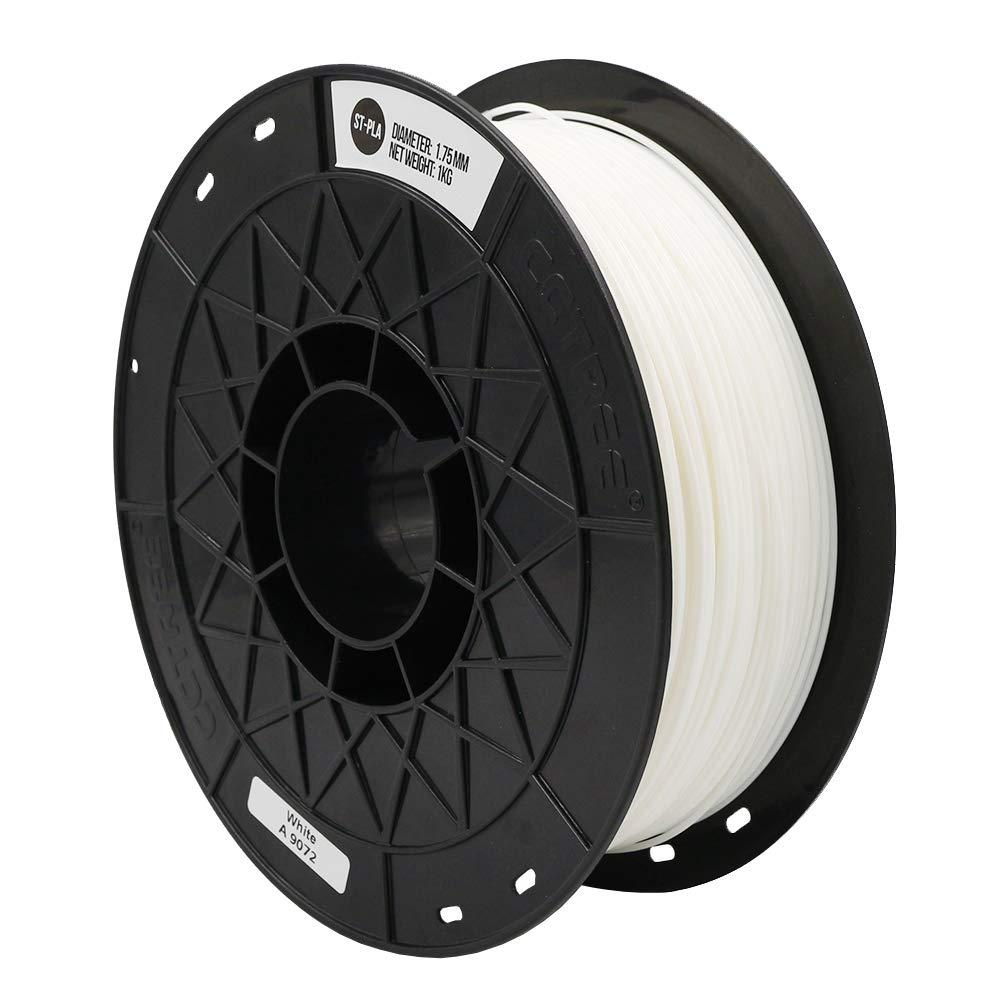 High Rigidity Creality CR-10S Ender 3 Pro S5 Accuracy +//- 0.03mm 1kg Spool CCTREE 3D Printer PLA ST-PLA Black 2.2lbs