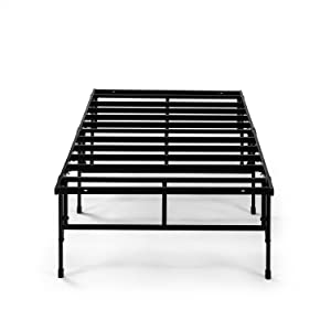 Zinus 14 Inch Easy To Assemble SmartBase Mattress Foundation in Narrow Twin/Cot size/Platform Bed Frame/Box Spring Replacement