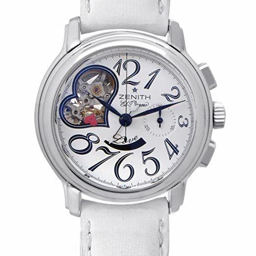 CENIT Estrella Abierto El Primero automatic-self-wind Womens Watch 03.1230.4021/31.c546 (Certificado) de segunda mano: Zenith: Amazon.es: Relojes