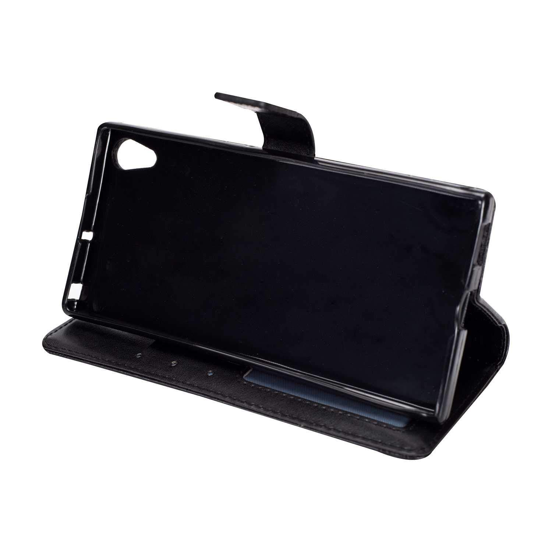 DENDICO Funda Sony Xperia XA1 Ultra Tipo Libro Piel Carcasa ...
