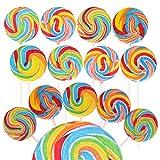 "Narwhal Novelties 2"" Lollipop Assortment, Swirl Lollipops (24-Pack)"