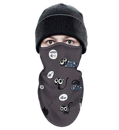 Amazon.com: Dojaavydd - Máscara de esquí, diseño de gato ...
