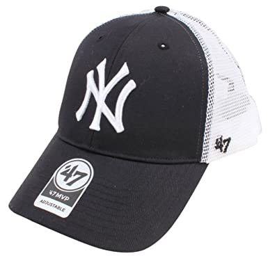 4d5eb10e286 Black MLB New York Yankees Branson 47 MVP Cap by 47 Brand  Amazon.co.uk   Clothing