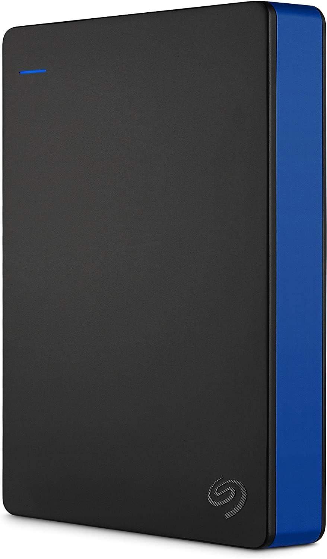 Seagate Game Drive, 4TB, Disco duro externo, HDD portátil, compatible con PS4 (STGD4000400)