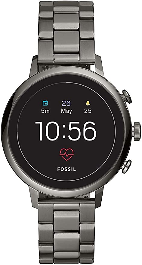 Fossil Q Venture HR Reloj Inteligente Acero Inoxidable GPS ...