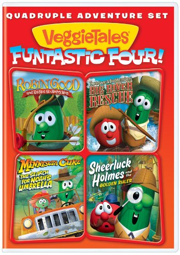 VeggieTales: Funtastic Four (Robin Good and His Not-So Merry Men / Big River Rescue / Minnesota Cuke: The Search For Noah's Umbrella / Sheerluck Holmes and the Golden Ruler)