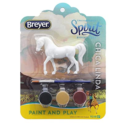 Breyer Spirit Paint and Play DreamWorks Riding Free Stablemates (Chica Linda): Toys & Games