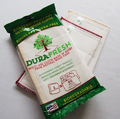 DURAFRESH Natural Wood Fiber Bacteria Fighting Multi-Use - Paper Sparkle Cut Outs