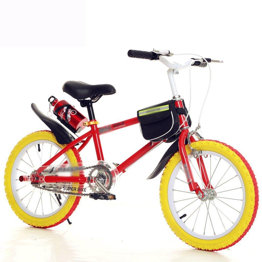 自転車 子供のマウンテンバイク男性と女性の学生18インチレッド (サイズ さいず : 18 inch) B07DZVTX3Z18 inch