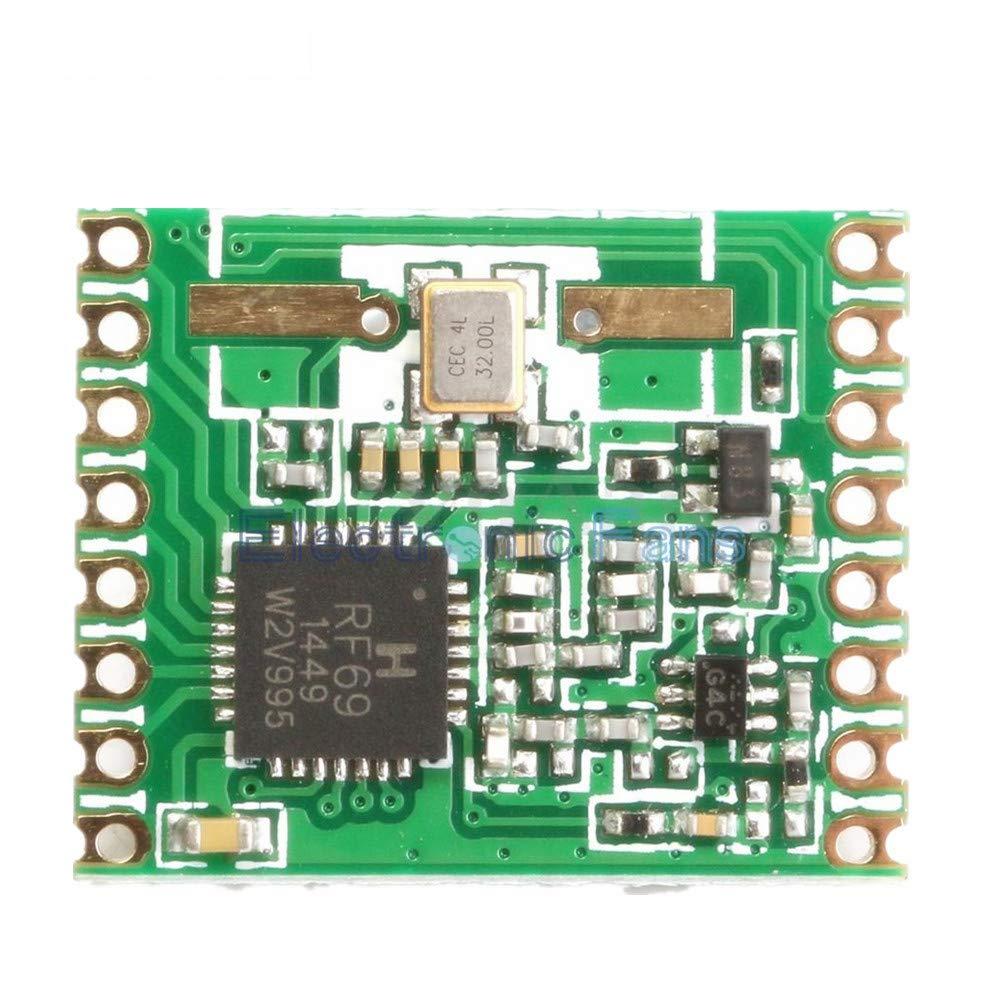 RFM69HW 868Mhz Transceiver Module High Integrated HopeRF