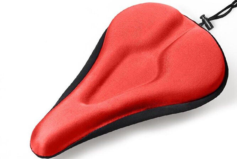 Fahrrad Sattel Bezug Extra Komfort Polsterung Soft Gel Kissen Gym Wunden