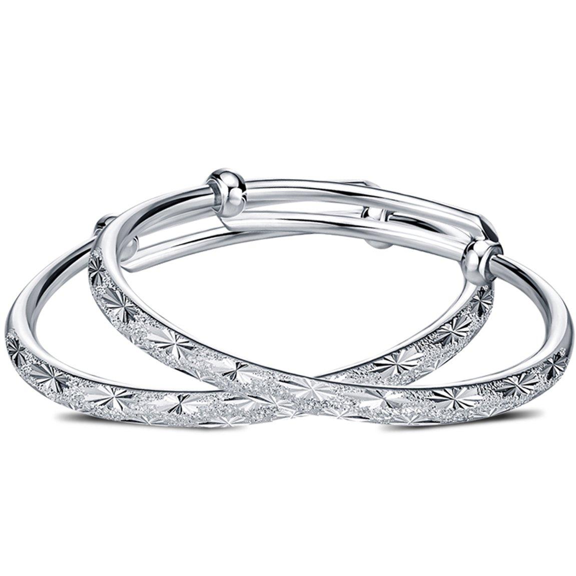LRW Braccialetto in argento puro alla moda per bimba