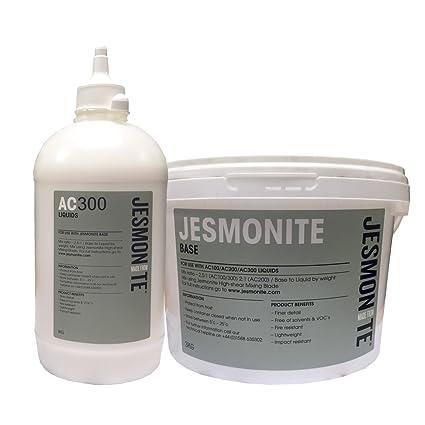 Jesmonite AC300 con base de agua resina para moldear de poliuretano 4 kg de