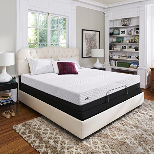 Sealy Conform Performance 11.5-Inch Cushion Firm Mattress, Queen, Made in USA,  10 Year Warranty