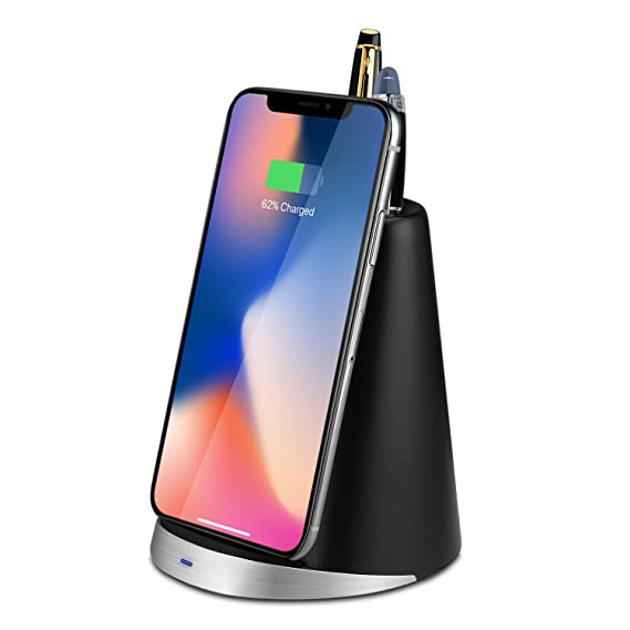 new concept 8097c 6b344 TNP Wireless Charger Qi Wireless Charging Pad Stand for iPhone X iPhone 8 /  8 Plus Samsung Galaxy S8 S7 Edge Note 8 LG G6 & Other Qi Enabled Devices -  ...