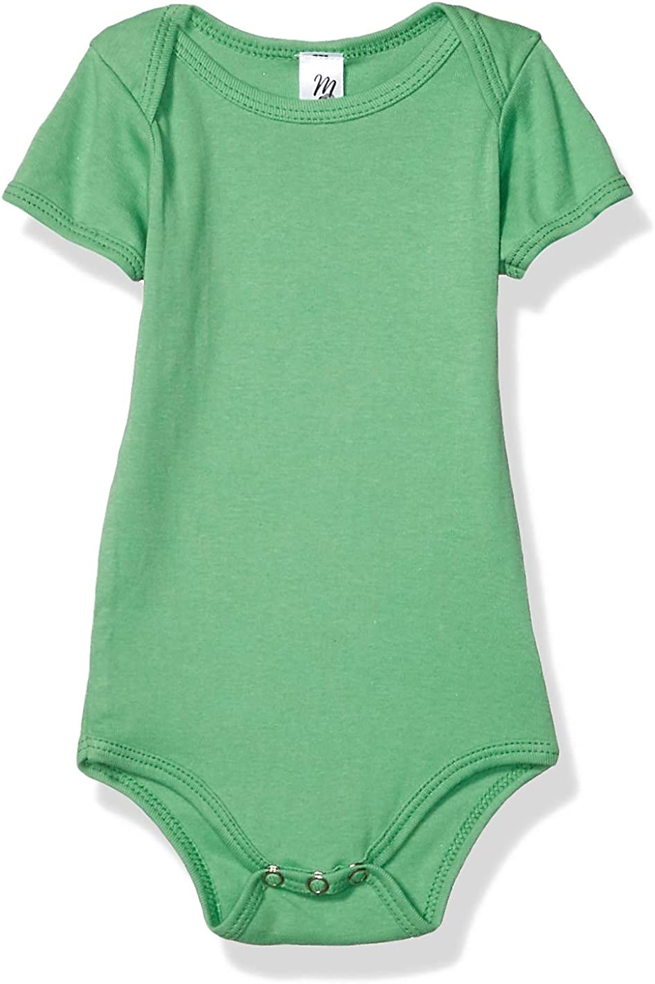 Marky G Apparel Baby Rib Short-Sleeve One-Piece-2 Pack