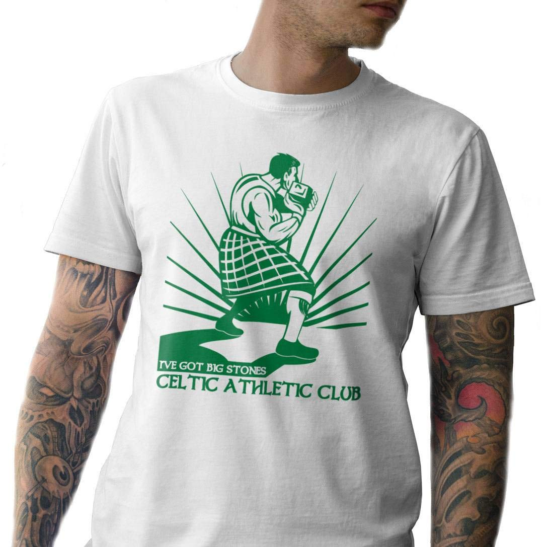 Ive got Big Stones Made in USA T-Shi. Celtic T-Shirt Celtic Athletic Club