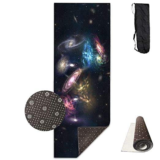 FGRYGF Cosmic Solar System Planet Earth Galaxy Nebula Yoga ...