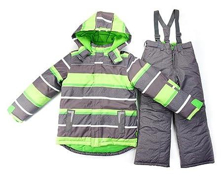 9a151c524 M2C Kids Boys Thicken Warm Hooded Windproof Ski Suit 2Pcs Set ...