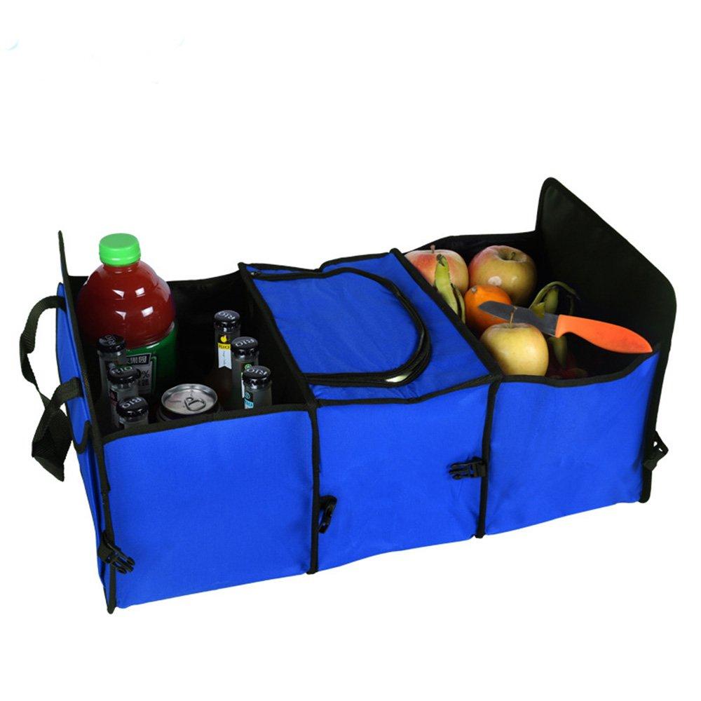 medifier Mehrzweck Oxford Stoff Faltbare Auto Cargo Aufbewahrung Fall stabile Aufbewahrungsboxen–versenkbarer Funktion für Reisen Urlaub Camping YC YC-A0102