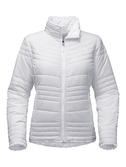 6f046b63559c Amazon.com  The North Face Women s Reversible Mossbud Swirl Jacket ...