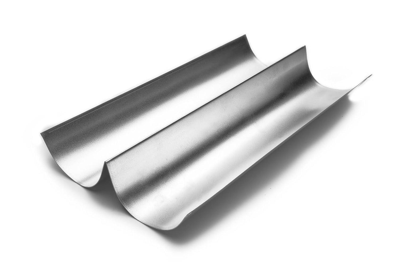 Fox Run 4629 Italian Bread Pan, Tin-Plated Steel, 15-Inch