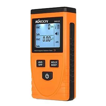 KKmoon GM3120 Inicio Detector de Radiación Electromagnética Pantalla LCD Dual Test Monitor de Radiación del Teléfono