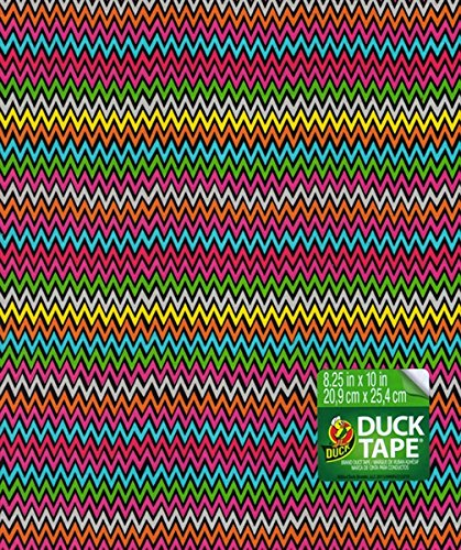 - Duck Brand Duct Tape Sheet 6-Pack Multicolor Print High Impact 8.25 inches by 10 inches