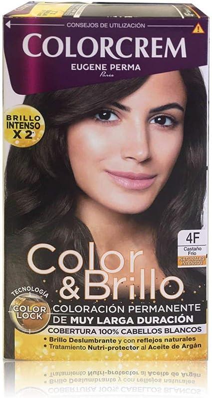 Colorcrem Tinte 4F Castaño Frio 200 gr: Amazon.es: Belleza