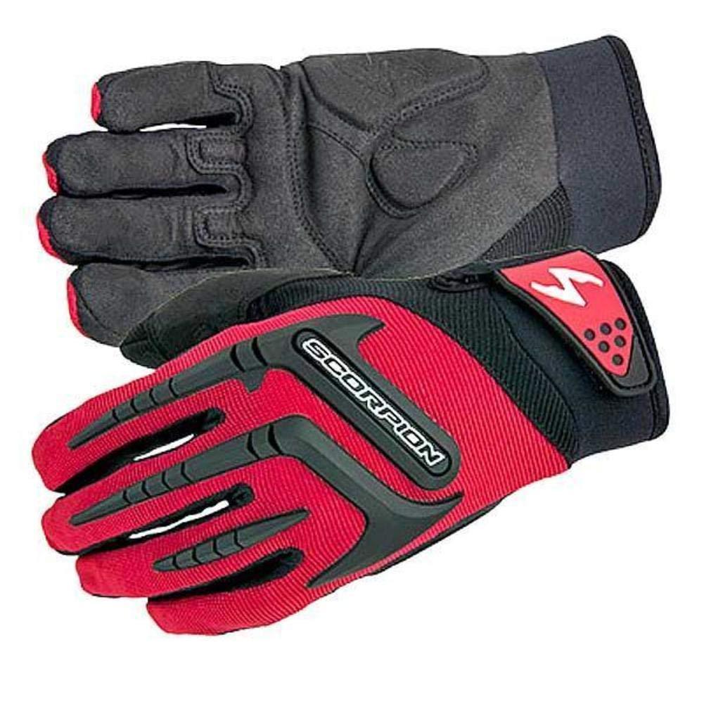 ScorpionExo Mens Skrub Gloves Black, Medium 1 Pack G12-034