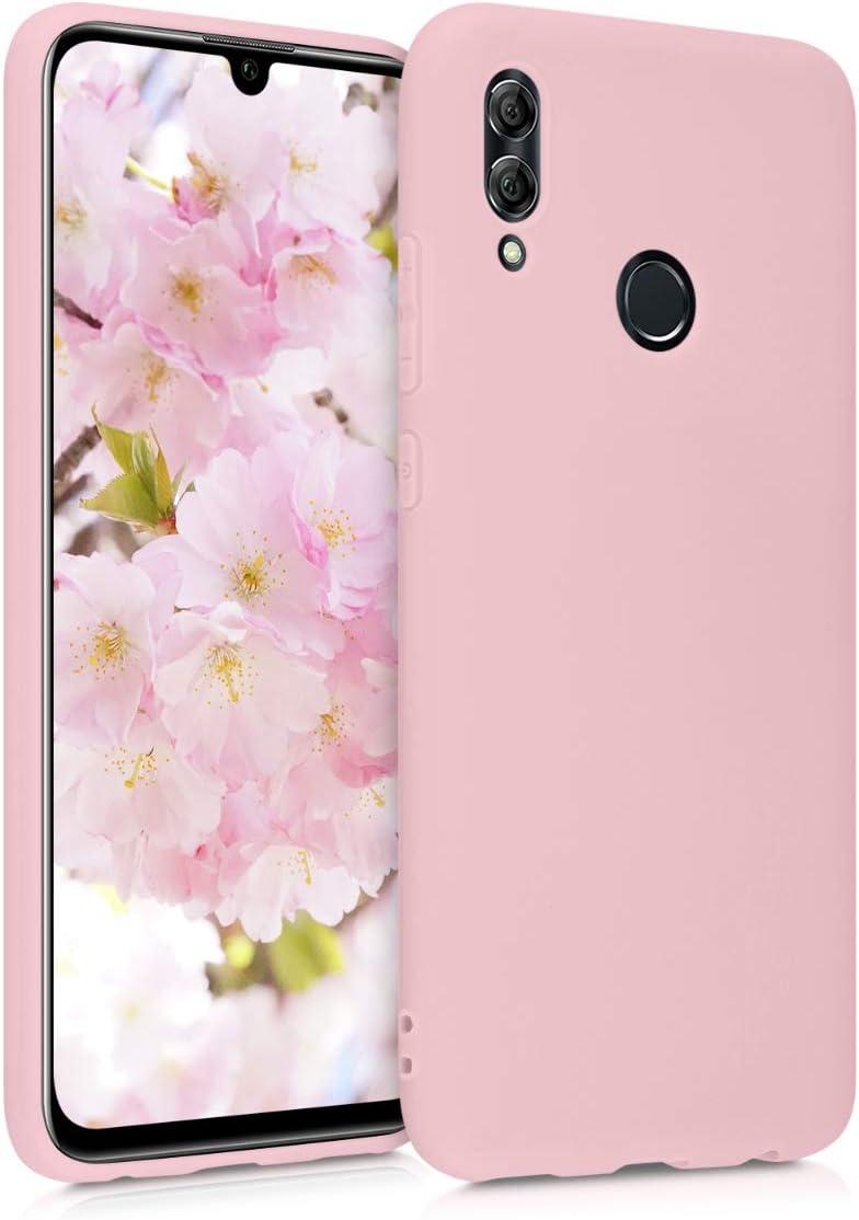 Carcasa de TPU Silicona kwmobile Funda Compatible con Huawei Honor 10 Lite Protector Trasero en Menta Mate