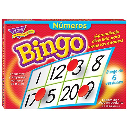 Trend Enterprises Numerous (Sp) Bingo Game (300 Piece)
