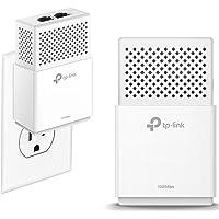 TP-Link AV1000 2-Ports Gigabit Powerline ethernet adapter kit, Powerline speeds up to 1000 Mbps (TL-PA7020 KIT_V2)