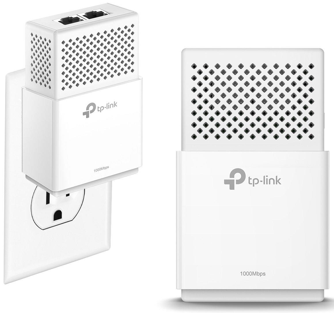 TP-Link TL-PA8010 KIT AV1200 1-Port Gigabit Powerline Adapter KIT, up to 1200Mbps, Plug and Play