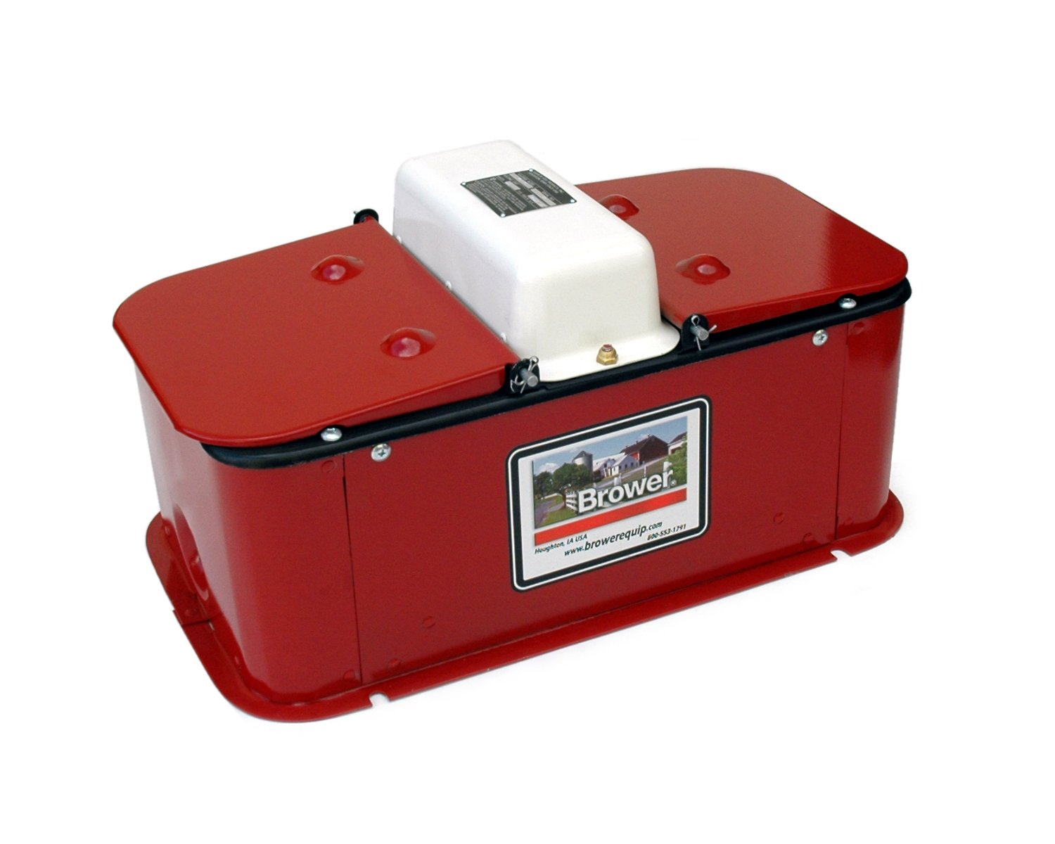 Brower MC32E Super Insulated Electric Heated Double Drink Hog Waterer by Brower